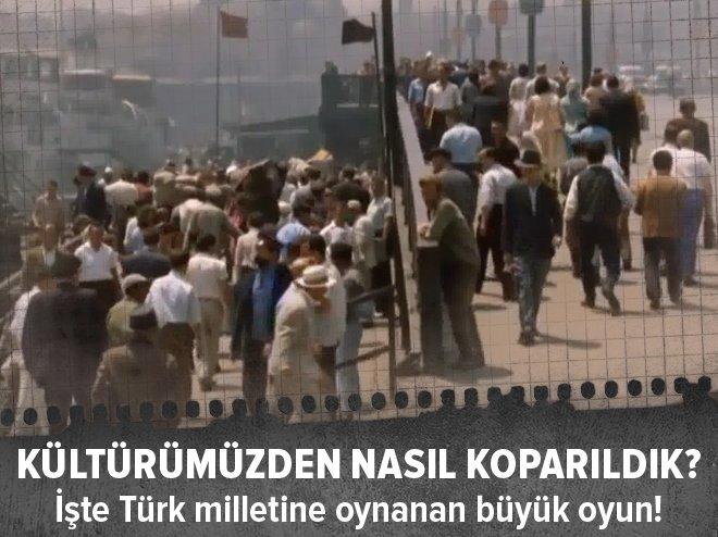 1923'ten beri Türkiye'nin yaşadığı kültürel kimlik kaybı