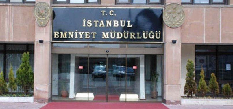 İSTANBUL EMNİYET MÜDÜRLÜĞÜ'NDE GÖREV DEĞİŞİKLİKLERİ