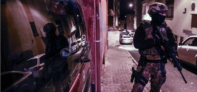 İSTANBUL'DA TERÖR OPERASYONU: 6 GÖZALTI