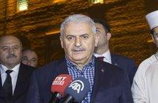 Başbakan Binali Yıldırım teravih namazını kıldı