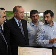 Cumhurbaşkanı Erdoğan, Milli İHA tesislerini ziyaret etti