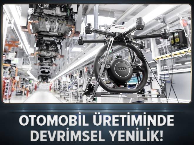 Otomobil üretiminde devrimsel yenilik!