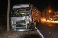 Malatya'da yol kontrolü yapan askere TIR çarptı: 1 şehit, 1 yaralı