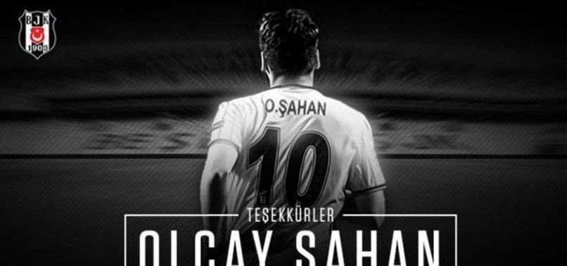 BEŞİKTAŞ'TAN OLCAY ŞAHAN'A TEŞEKKÜR