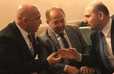 Meclis'te Bakan Akdağ'ın doğum günü kutlandı