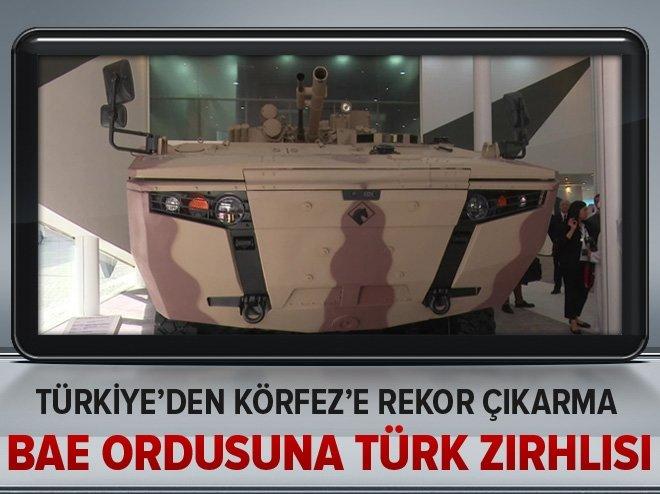 BAE ordusuna Türk zırhlısı!