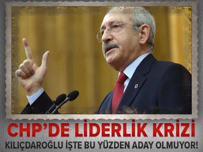 CHP'de liderlik krizi