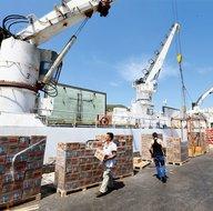 Türkiye'den Katar'a gemiyle ilk gıda sevkiyatı