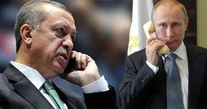 Putin ile Erdoğan arasında kritik görüşme