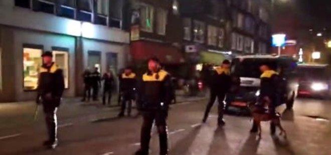 HOLLANDA POLİSİ TÜRK VATANDAŞLARINA ŞİDDET UYGULADI