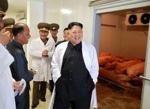 Kim Jong'un bu görüntüleri tartışma konusu oldu