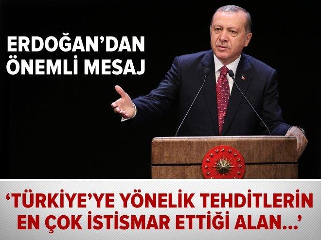 'Türkiye'ye yönelik tehditlerin en çok istismar ettiği alan...'