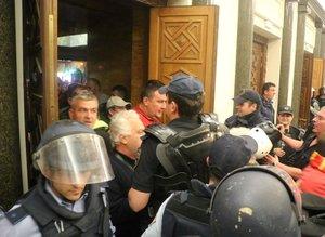 Makedonya Meclisinde olaylar
