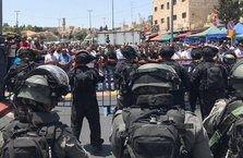 İsrail'den Mescid-i Aksa'da cuma engeli