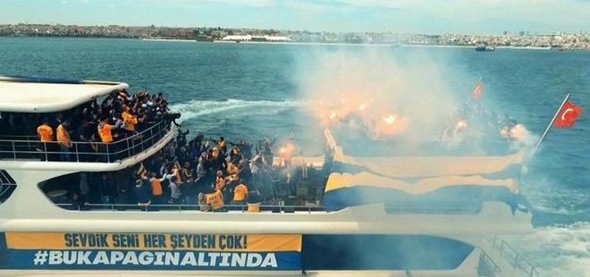 TARAFTARLAR FİNAL FOUR'A TEKNELERLE AKIN ETTİLER
