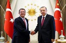 ABD Savunma Bakanı Carter Cumhurbaşkanı Erdoğan'a teşekkür etti