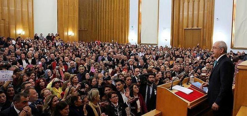 CHP'LİLER YİNE FETÖ VE PKK TUTUKLULARINA SAHİP ÇIKTI