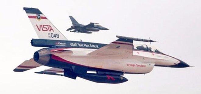 PİLOTSUZ F-16 ŞOV YAPTI