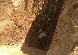 Bu tünelin diğer ucu Türkiye'ye çıkacaktı!