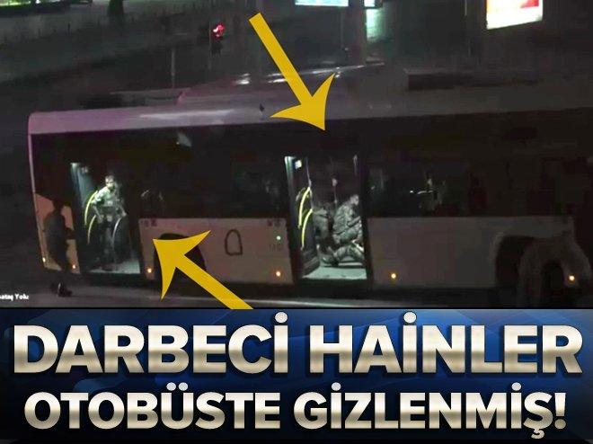 Darbeciler otobüste gizlendi