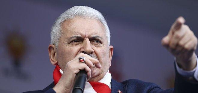 TERÖRİSTLER KOL KOLA GİRMİŞLER 'HAYIR' KAMPANYASI YAPIYOR