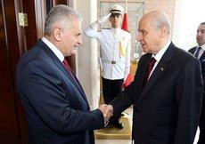 Başbakan'dan Bahçeli'ye sürpriz teklif