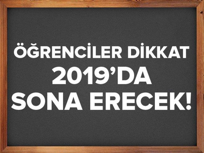 2019'da tam gün eğitime geçeceğiz