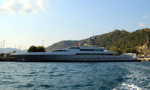 80 milyon euroluk yat, Muğla'da