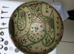 Bizans ve Roma dönemine ait 553 adet sikke ele geçirildi