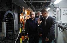 Putin, Türk Akımı boru hattının parçalarının birleştirilmesini izledi