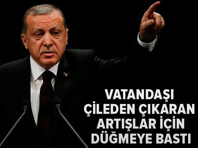 Cumhurbaşkanı Erdoğan, pazardaki olağanüstü artışlar için devreye girdi