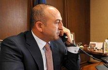 Çavuşoğlu'ndan 4 kritik telefon görüşmesi