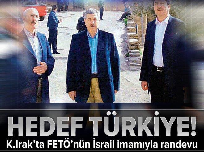 K.Irak'ta İsrail imamıyla randevu! Ortak hedef Türkiye