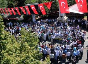 Türkiye Mescid-i Aksa için ayakta