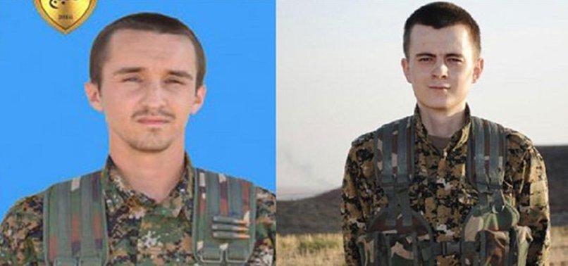 ÖLDÜRÜLEN YPG'Lİ TERÖRİSTLER ABD VE ALMANYALI ÇIKTI