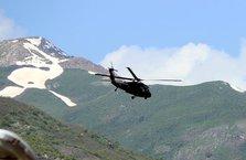 Bomba yüklü araç, helikopterle infilak ettirildi