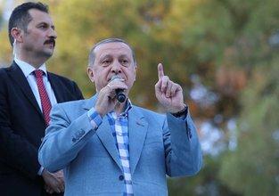 Erdoğan: Buna asla izin vermeyeceğiz
