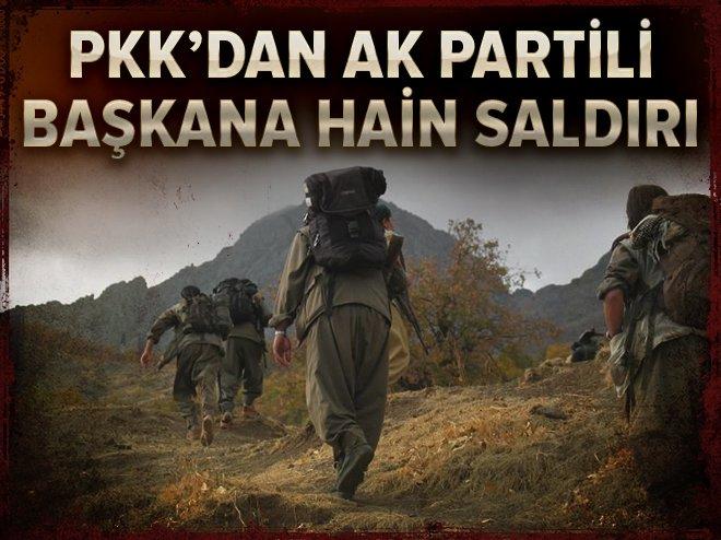 PKK, AK Parti Muradiye İlçe Gençlik Kolları Başkanı Selçuk Yay'a saldırdı