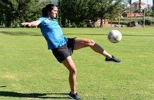 'Dişi Ronaldinho' taraftarın ilgi odağı oldu