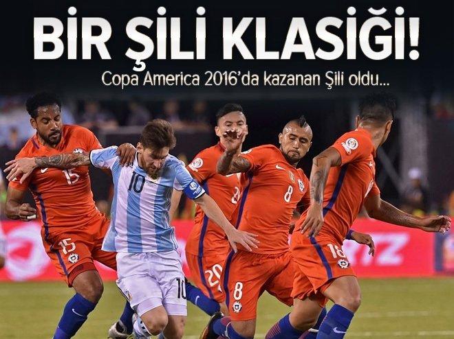 Copa America 2016'nın sahibi Şili oldu!