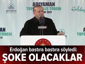 Cumhurbaşkanı Erdoğan: Gençleri kabineye layık görmeyenler şoke olacak