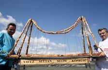 Yavuz Sultan Selim Köprüsü'nün