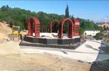 'Zafer Anıtı' yükseliyor