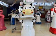 Çin'de robot mağazası açıldı