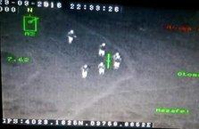 Ordu'da teröristlerin vurulma anı kameraya yansıdı