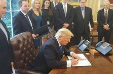 Obama üç kez veto etmişti, Trump onayladı