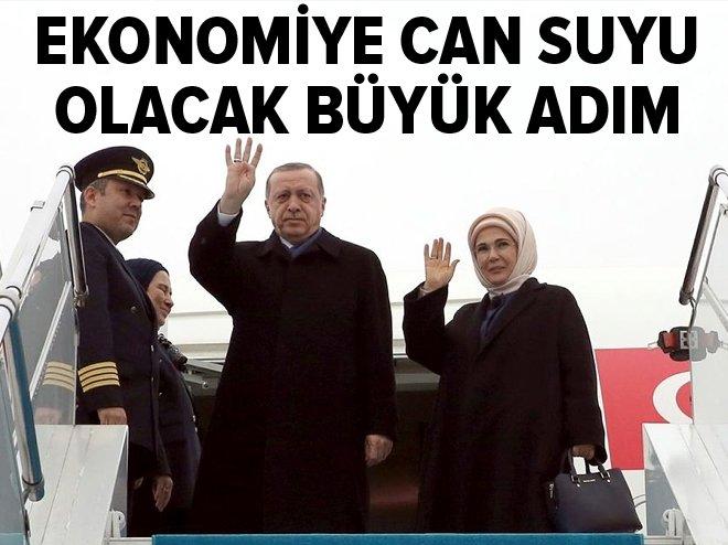 Erdoğan'dan ekonomiyi canlandıracak büyük adım