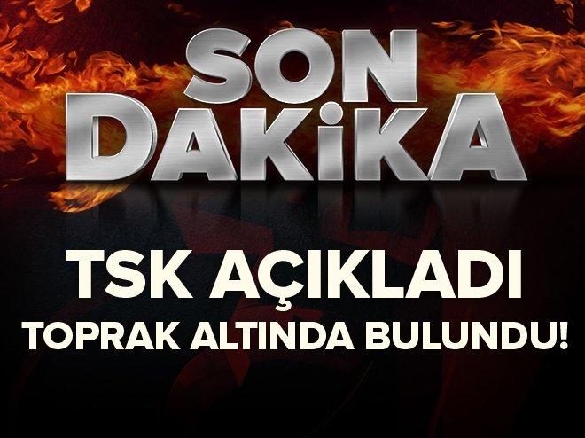 PKK'ya ait füze bulundu