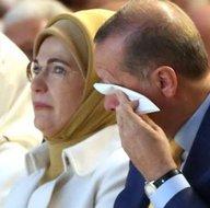 Cumhurbaşkanı Erdoğan'ın duygusal anları