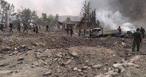El Babda DEAŞ bomba yüklü araçla saldırdı